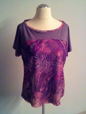 Shirt mit auffälligem Print in 38