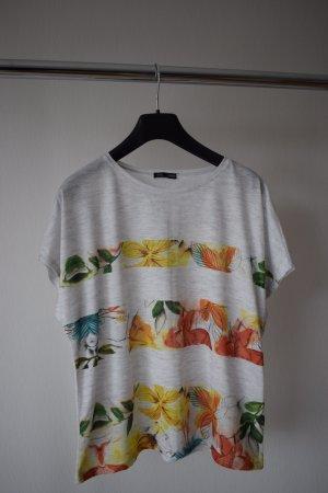 Shirt mit Blattmotiv