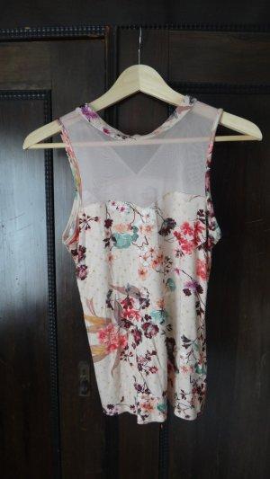 Shirt mit Blüten 36