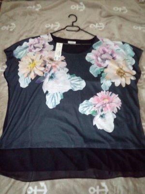 Shirt mit Blumen Yessica C&A Größe 52/54