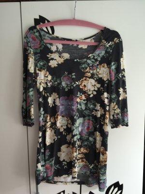 Shirt mit Blumenmuster und 3/4 Ärmeln, Detmold