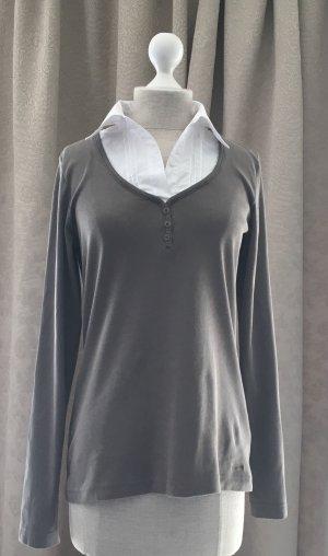 Shirt mit Blusen Kragen