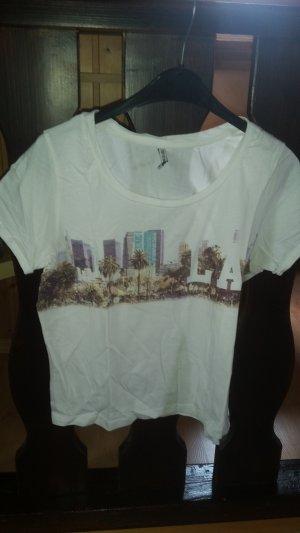 Shirt mit buntem LA- Aufdruck