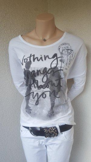 Shirt mit coolem Aufdruck - Gr. 38