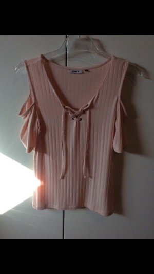 Only Camisa tejida rosa