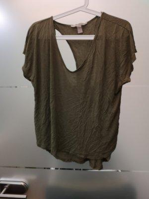 Shirt mit cut outs