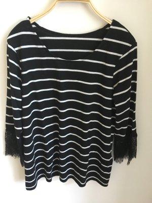 Orsay Stripe Shirt black-white