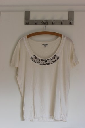 Shirt mit elastischem Bund