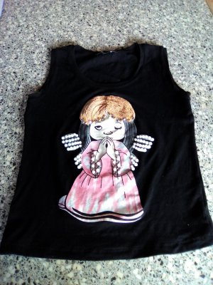 Shirt mit Engelmotiv