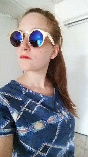 Zara Trafaluc T-shirt blauw