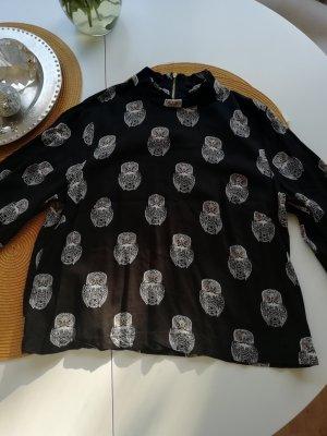 Shirt mit Eulen