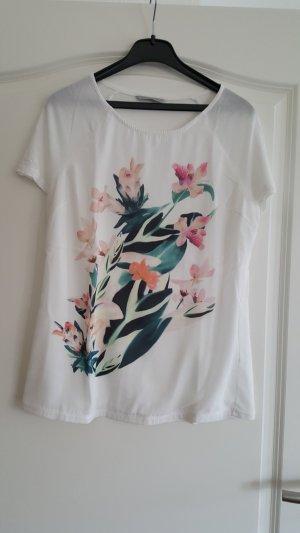 Shirt mit floralem Brustdruck