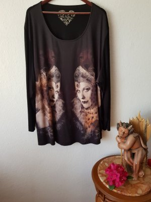 Shirt mit Frauenmotiv