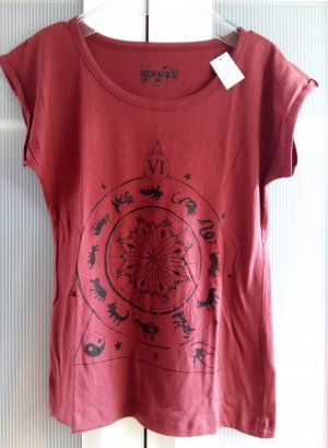 Shirt mit Frontprint Gr. UK 10