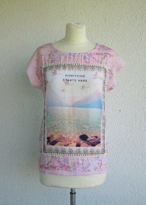 Shirt mit Frontprint von Rainbow