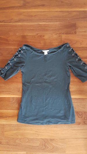 H&M Boothalsshirt cadet blauw