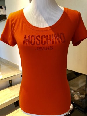 Moschino Jeans T-shirt orange fluo
