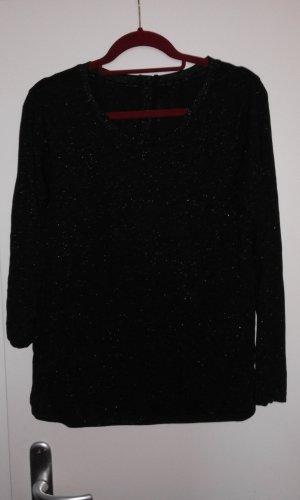 Shirt mit Glitzergarn Gr. M  40/42