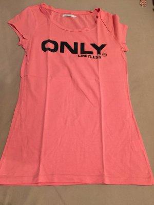 Shirt mit Glitzerschrift