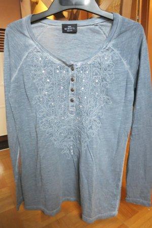 Shirt mit Glitzersteinchen Gr. 36/38