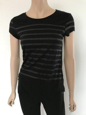 Shirt mit Glitzerstreifen
