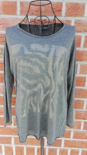 Zara Camicia oro-grigio chiaro