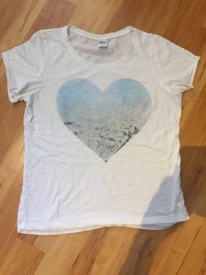 Shirt mit großem Herzprint
