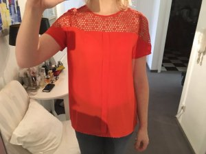 Shirt mit Guipur-Spitze