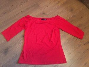 Even & Odd Boothalsshirt rood