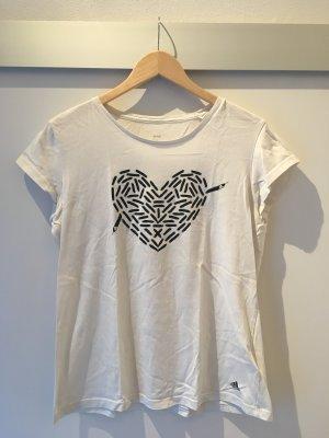 Shirt mit Herz von Adidas