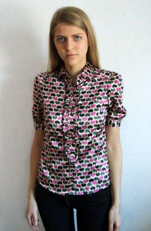 Shirt mit Herzen-Muster