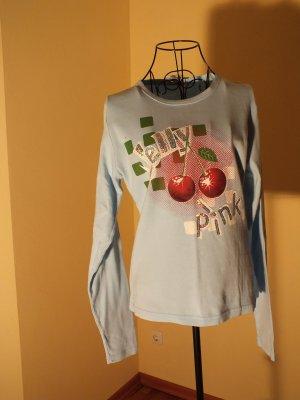 Shirt mit Kirschen und Pailetten