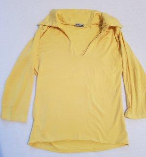 Shirt mit Kragen gelb