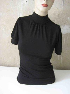 H&M Neckholder Top black viscose