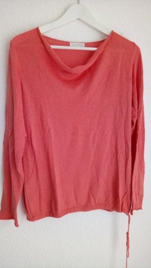 Shirt mit leichtem Wasserfallausschnitt von Promod, Gr. 38