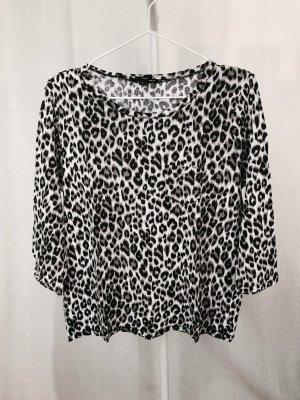 Tally Weijl Shirt met print zwart-camel