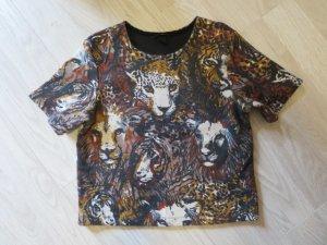 H&M Shirt met print veelkleurig