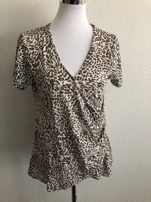 Shirt mit Leoprint / Leomuster von Viventy - Gr. XL