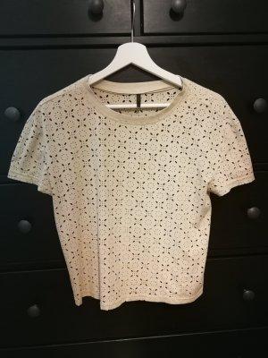 Shirt mit Lochmuster