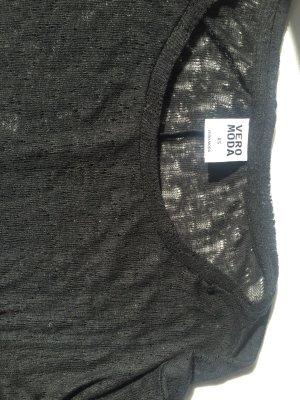 Shirt mit Lochmuster Vero Moda