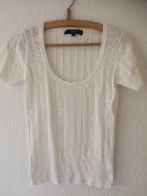 Camera Camisa tejida blanco puro-blanco