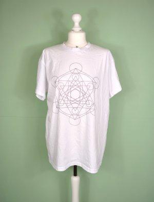 Shirt mit Mandala / Geometrischen Print