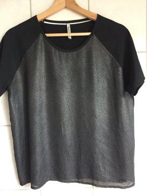 Shirt mit metalic Vorderseite