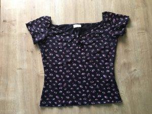 ❤️ Shirt mit Millefleur Blümchen ❤️