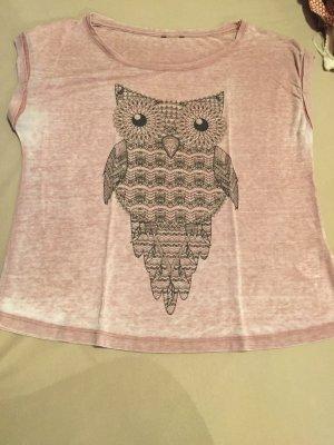 Shirt mit Motiv (Eule)