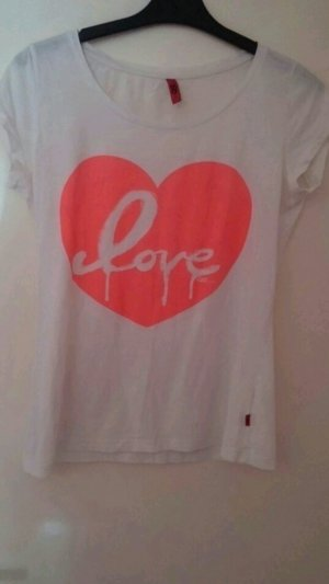 "Shirt mit Neonprint ""Love"""