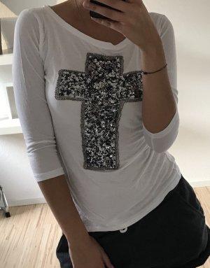 Shirt mit Paietten
