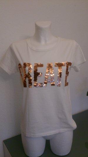 Shirt mit Pailetten