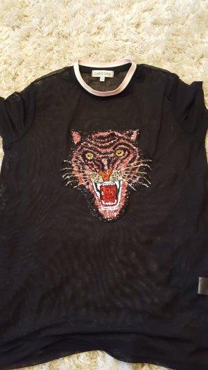Shirt mit pailietten in gr.36/38