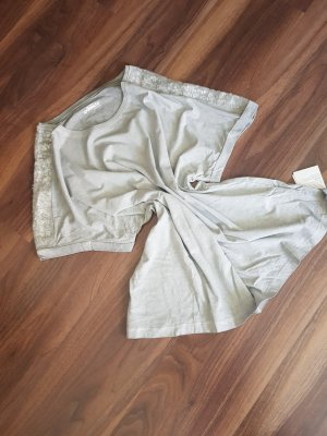 Tchibo / TCM Camisa holgada gris claro